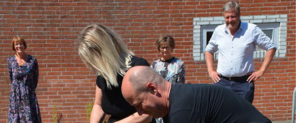 Første spadestik til ny daginstitution på Abildvej i Frederikshavn