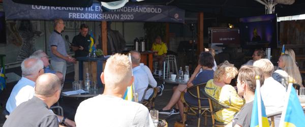 Festlig EM-lodtrækning: Håndboldfesten er begyndt i Frederikshavn