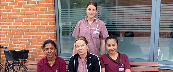 Kommunens pleje- og sundhedspersonale får nye uniformer