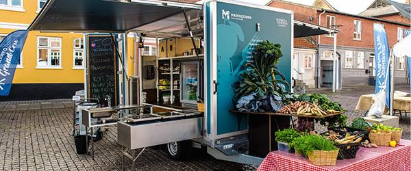 Fælles madlavning i det fri på Østerby Havn