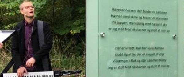Poesivandring med fællessang i Frederikshavn