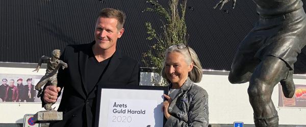 Peter Møller kåret som Årets Guld-Harald