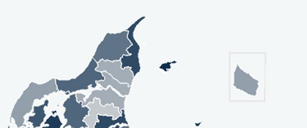 Boligsalget steget i ni ud af ti kommuner i 2020