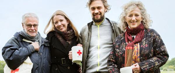 Røde Kors opfordrer Frederikshavn til at sige JA til en gåtur