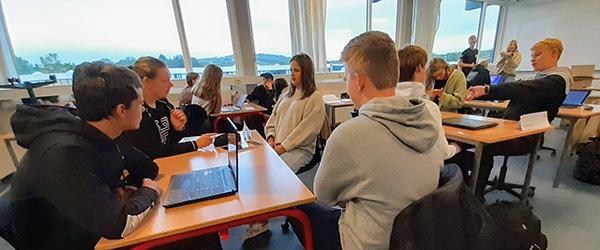 Htx-elever laver film for Frederikshavn Kommune