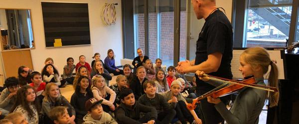 Musikskolen i Frederikshavn Kommune arrangerer musikskoledage