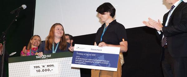 TOIL 'N' MOIL løb med sejren i nordjysk bæredygtighedskonkurrence