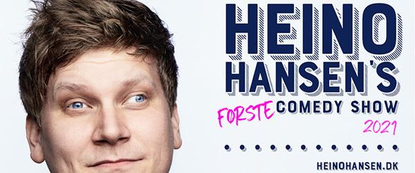 Heino Hansen indtager Det Musiske Hus på ny turné i 2021