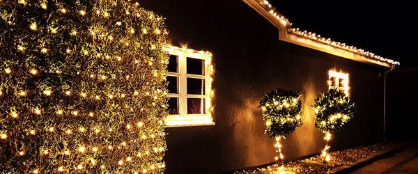 Julelys kan påvirke prisen på dit hus