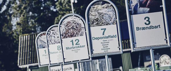 Forhold om affald fra minkfarme på genbrugspladser i Frederikshavn Kommune
