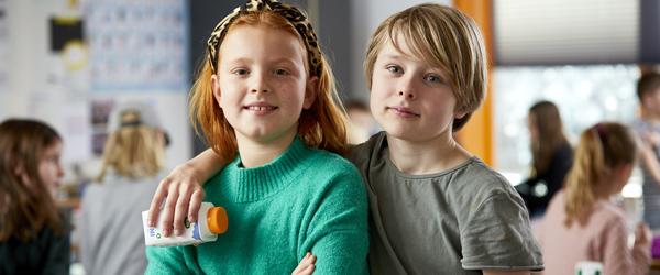 Strandby Skole får skolemælkspenge til leg, yoga og ironman