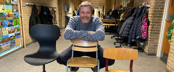 Folkeskolerne i Frederikshavn Kommune får nye møbler