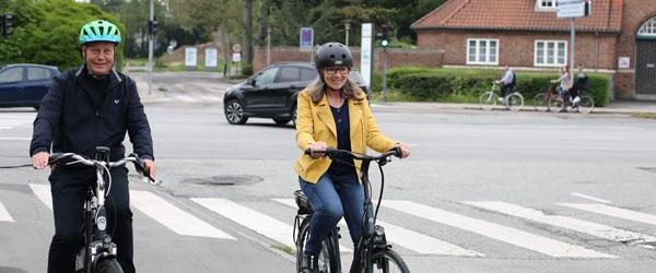 For mange seniorer vælter på cyklen