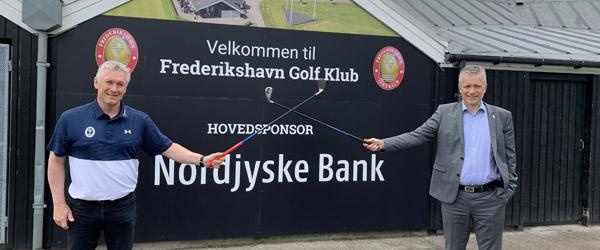 Ny 2-årig hovedsponsoraftale mellem Nordjyske Bank og Frederikshavn Golfklub