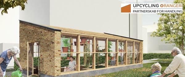 Danmarks første upcyclede orangeri bygges snart