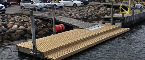 Frederikshavns flotteste flydeponton?