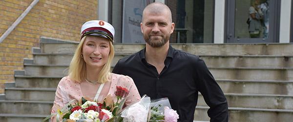 Årets første student på Frederikshavn Gymnasium