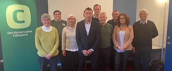 Per Larsen valgt som folketingskandidat for den Konservative Vælgerforening
