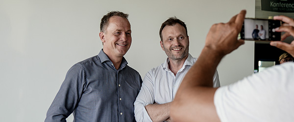Mødet med Lars Boje Mathiesen blev en stor succes