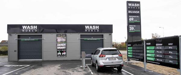 Bilvask med smart teknologi kommer til Frederikshavn