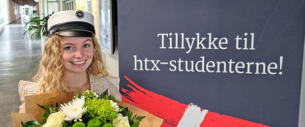 Årets første student fra htx Frederikshavn