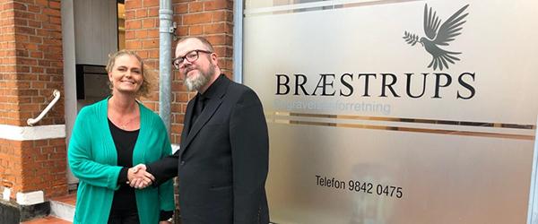 Bedemand Anita Olsson har købt Bræstrups Begravelsesforretning