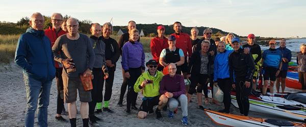 Kajaktræf mellem Frederikshavn Havkajakklub og Sæby Ro- og Kajakklub