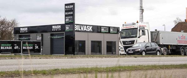 Frederikshavn får højteknologisk bilvask med abonnement